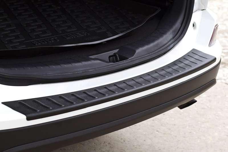 Пластиковая накладка на бампер Toyota Rav4 2013-2018, фото 3