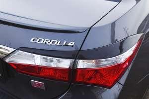Задние реснички Toyota Corolla (седан) 2012-2015