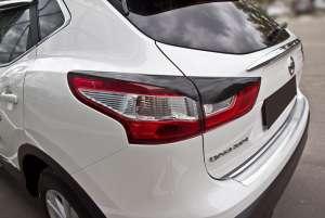 Задние реснички Nissan Qashqai 2014-2017