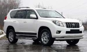 Молдинги на двери Toyota Land Cruiser Prado 150 2013+