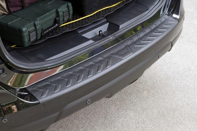 Пластиковая накладка на бампер Nissan X-trail 2015+, фото 2