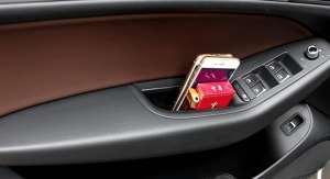 Органайзеры в передние двери для Audi A7 2010-2016