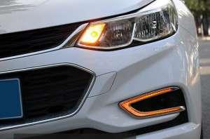 Дневные ходовые огни Chevrolet Cruze 2016+