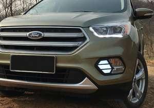 Дневные ходовые огни Ford Kuga 2016+